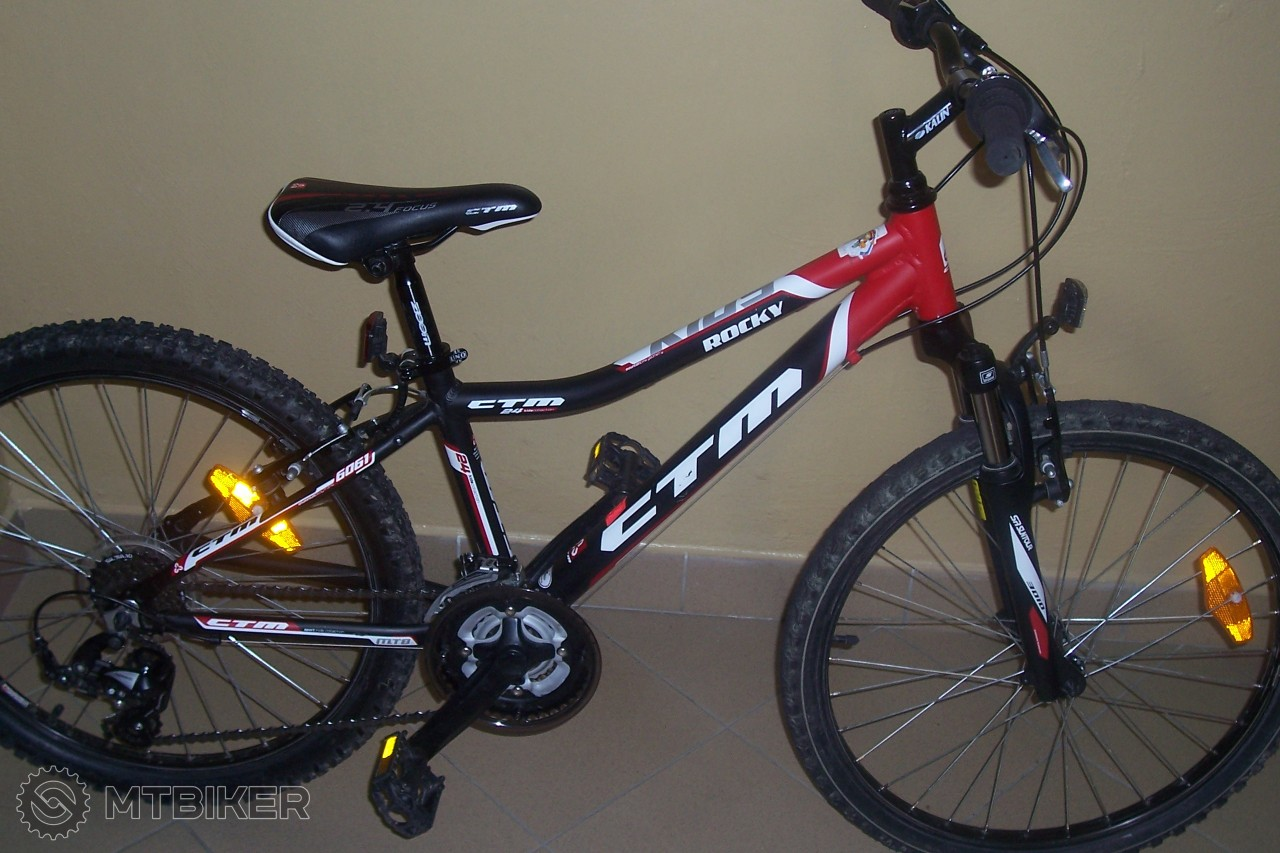 90d2f0e477096 Detský Horský Bicykel Ctm Rocky