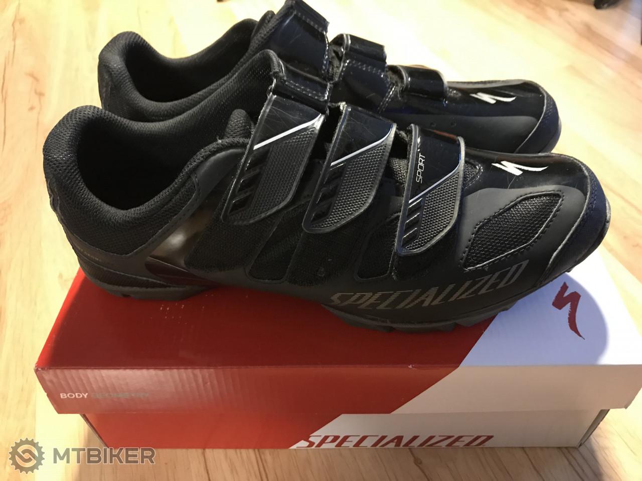 5bf6dc4bdb60a Specialized Sport Mtb Black Tretry, Veľkosť 44 - Príslušenstvo - Tretry - Bazár  MTBIKER