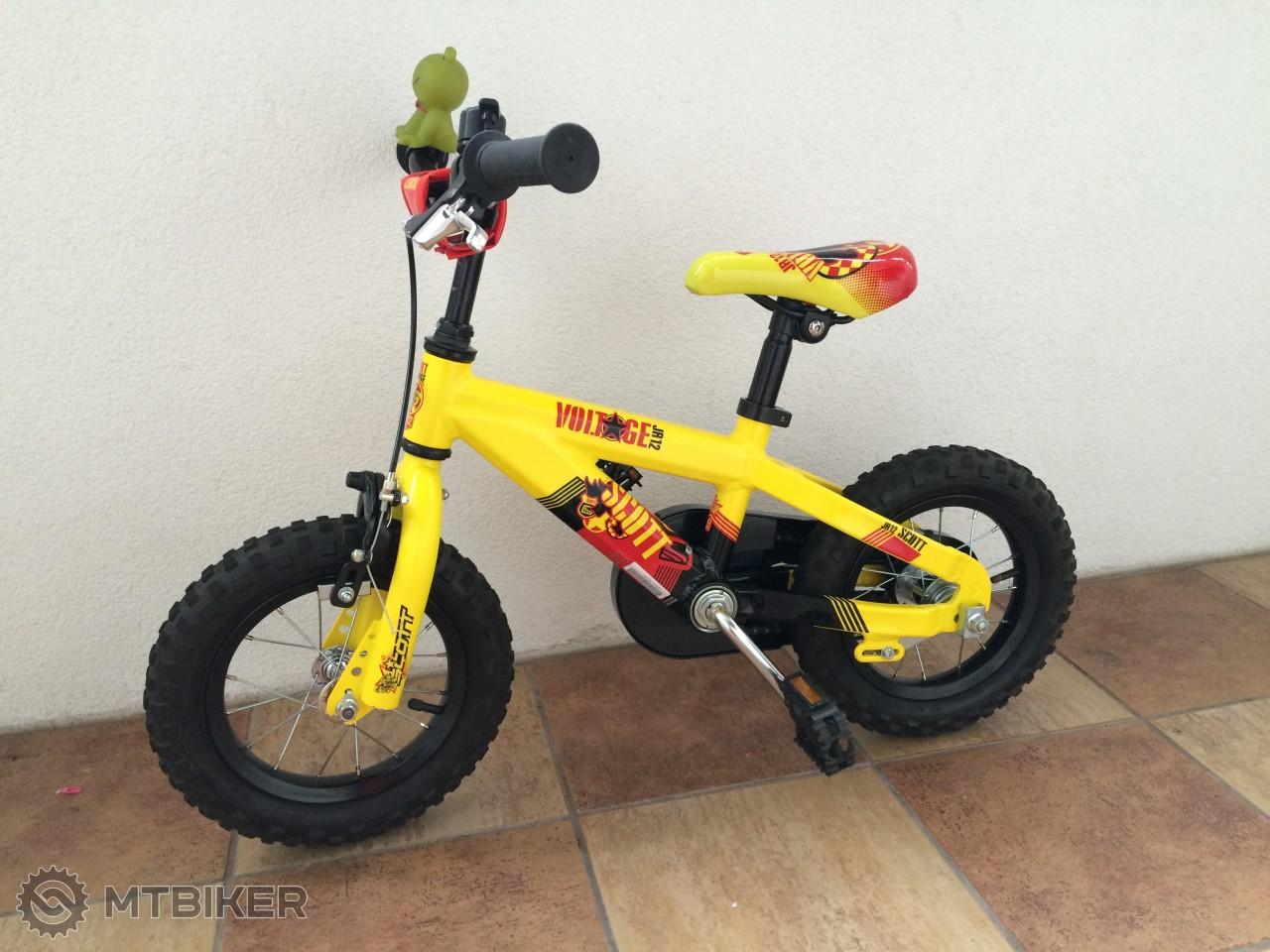 e808811a9144b Detský Bicykel Scott Voltage Jr 12 - Bicykle - Pevné a hardtail - Bazár  MTBIKER