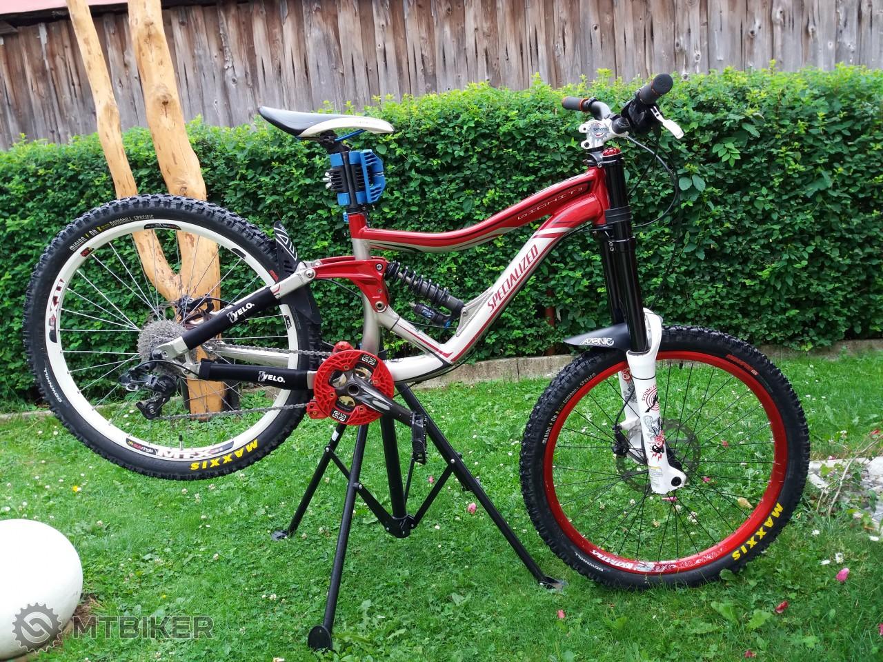 bc4b70d0ef52a Specialized Big Hit 3 Top (custom) - Bicykle - Celoodpružené - Bazár MTBIKER