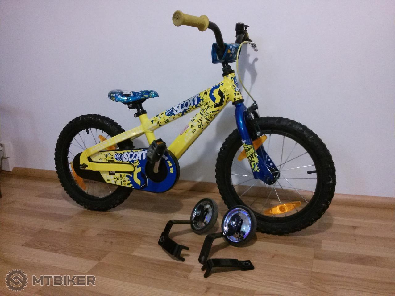 881e3014f92c9 Detský Bicykel Scott Voltage 16 Jr - Bicykle - BMX, Dirt/Street - Bazár  MTBIKER