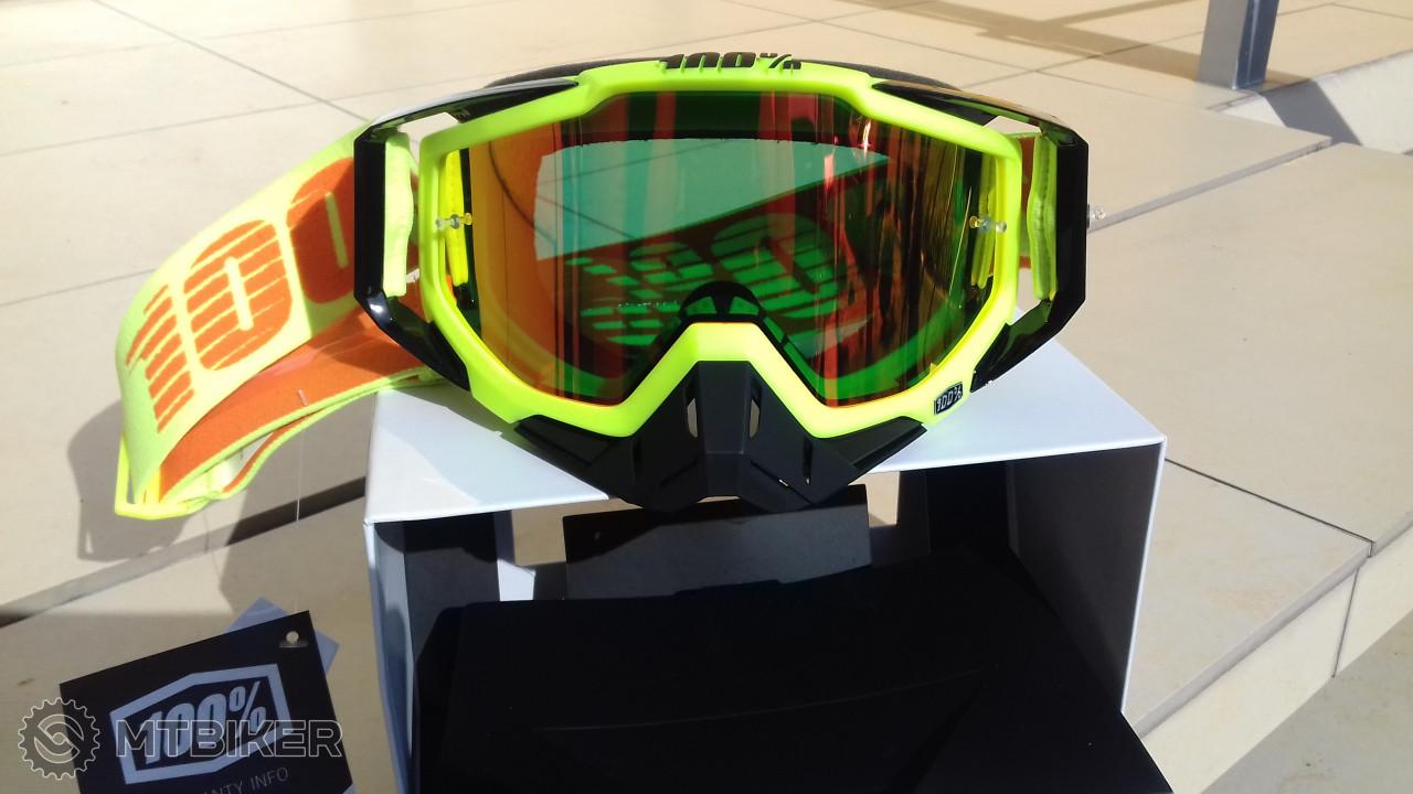 100% Racecraft Zrkadlove + Cire Sklo - Príslušenstvo - Okuliare - Bazár  MTBIKER 4657f306935