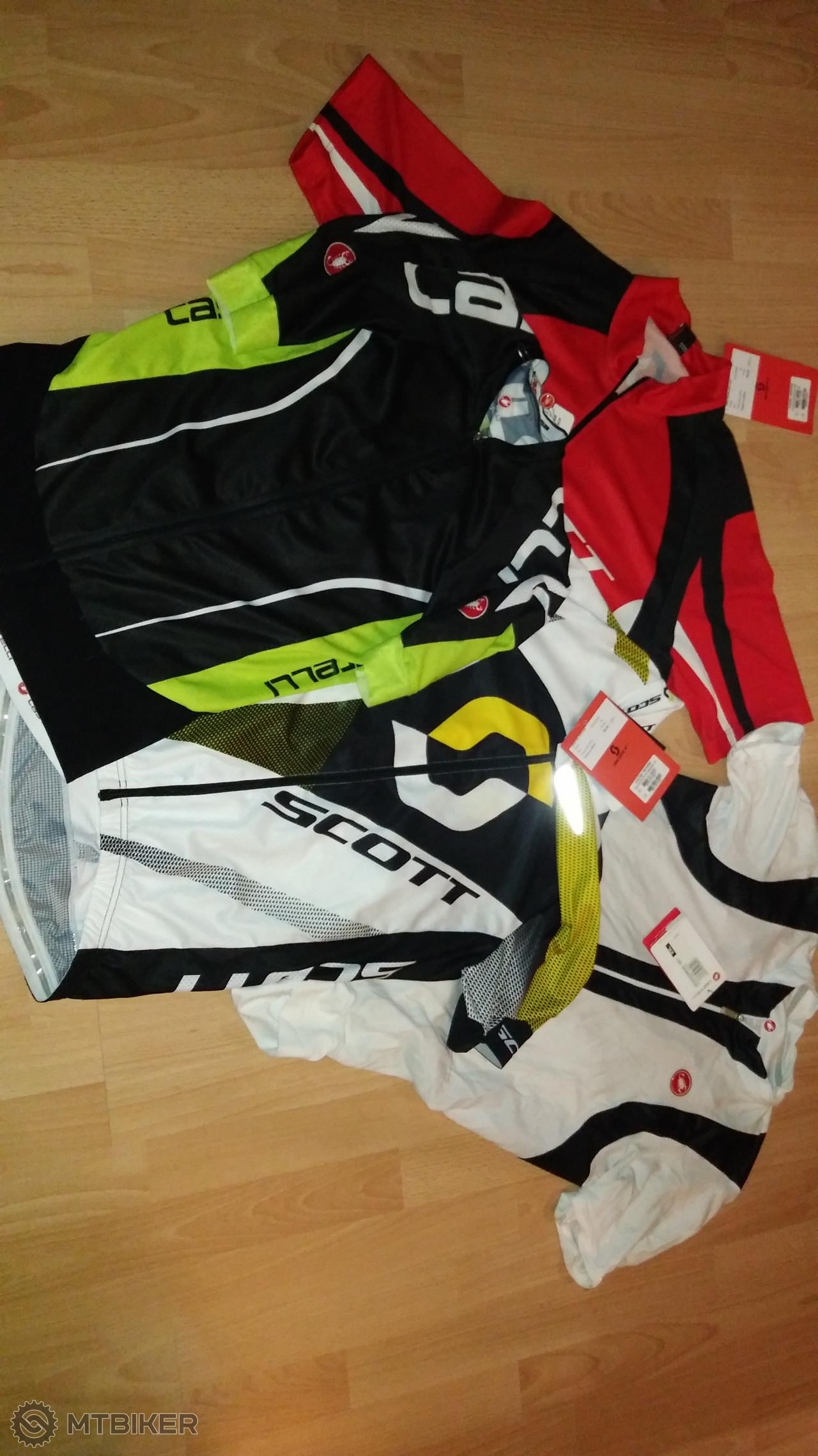 9616cf1599794 Cyklistické Dresy Castelli A Scott - Príslušenstvo - Oblečenie a batohy - Bazár  MTBIKER