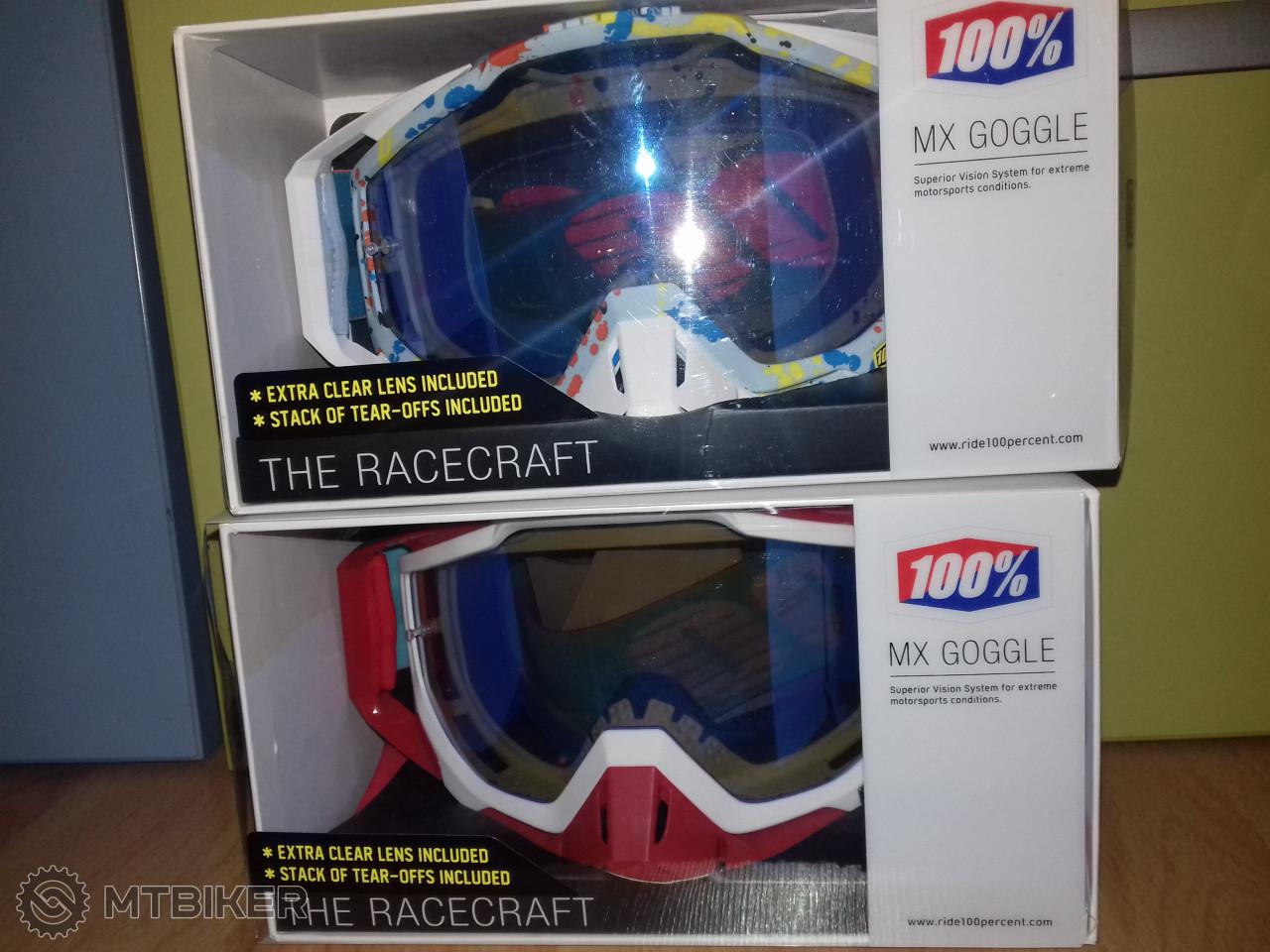 Predám 100% Racecraft Čisto Nové - Príslušenstvo - Okuliare - Bazár MTBIKER 61c0d74ca0d