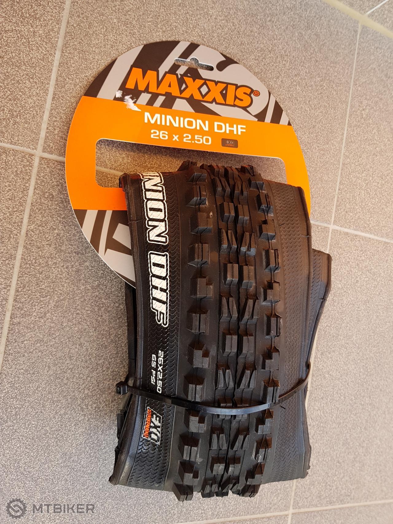 7fce6f56e312f Plášť Maxxis Minion Dhf 26x2.50 Kevlar Exo Mxp - Komponenty - Plášte -  Bazár MTBIKER