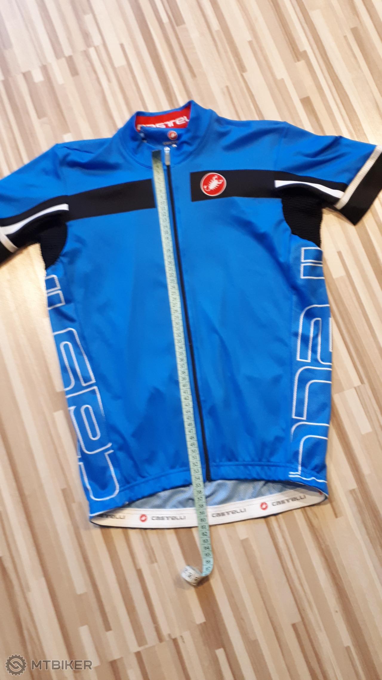 189a8f09dc487 Cyklo Dres Castelli Nepouzity - Príslušenstvo - Oblečenie a batohy - Bazár  MTBIKER
