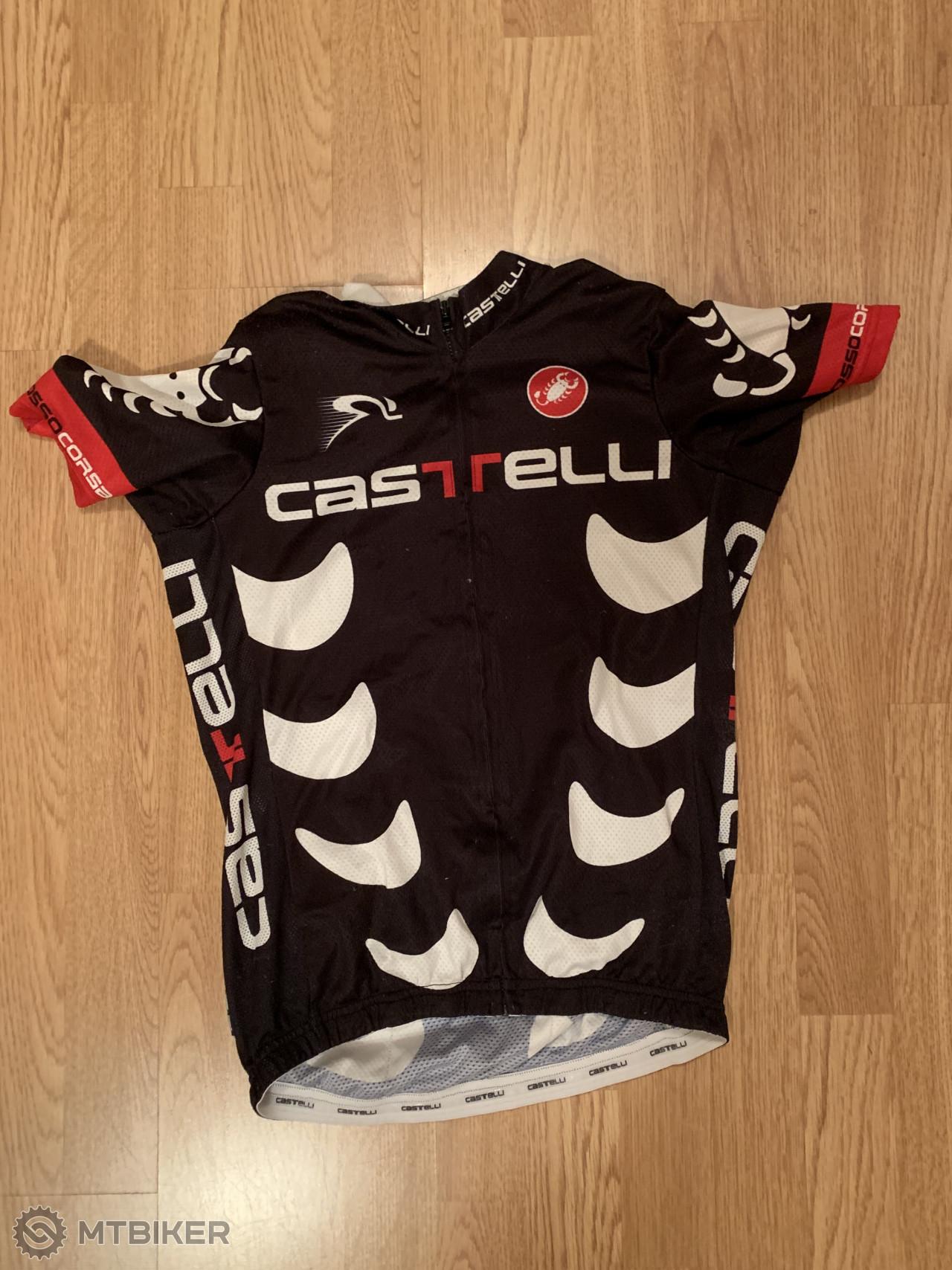 ef5a065347119 Dres Na Bicykel Castelli - Príslušenstvo - Oblečenie a batohy - Bazár  MTBIKER