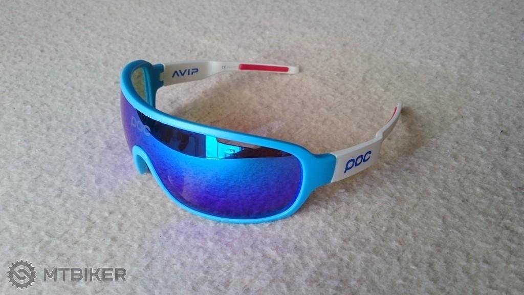 215469c5a Športové Okuliare P O C - Blue/white + Polarized - Príslušenstvo - Okuliare  - Bazár MTBIKER