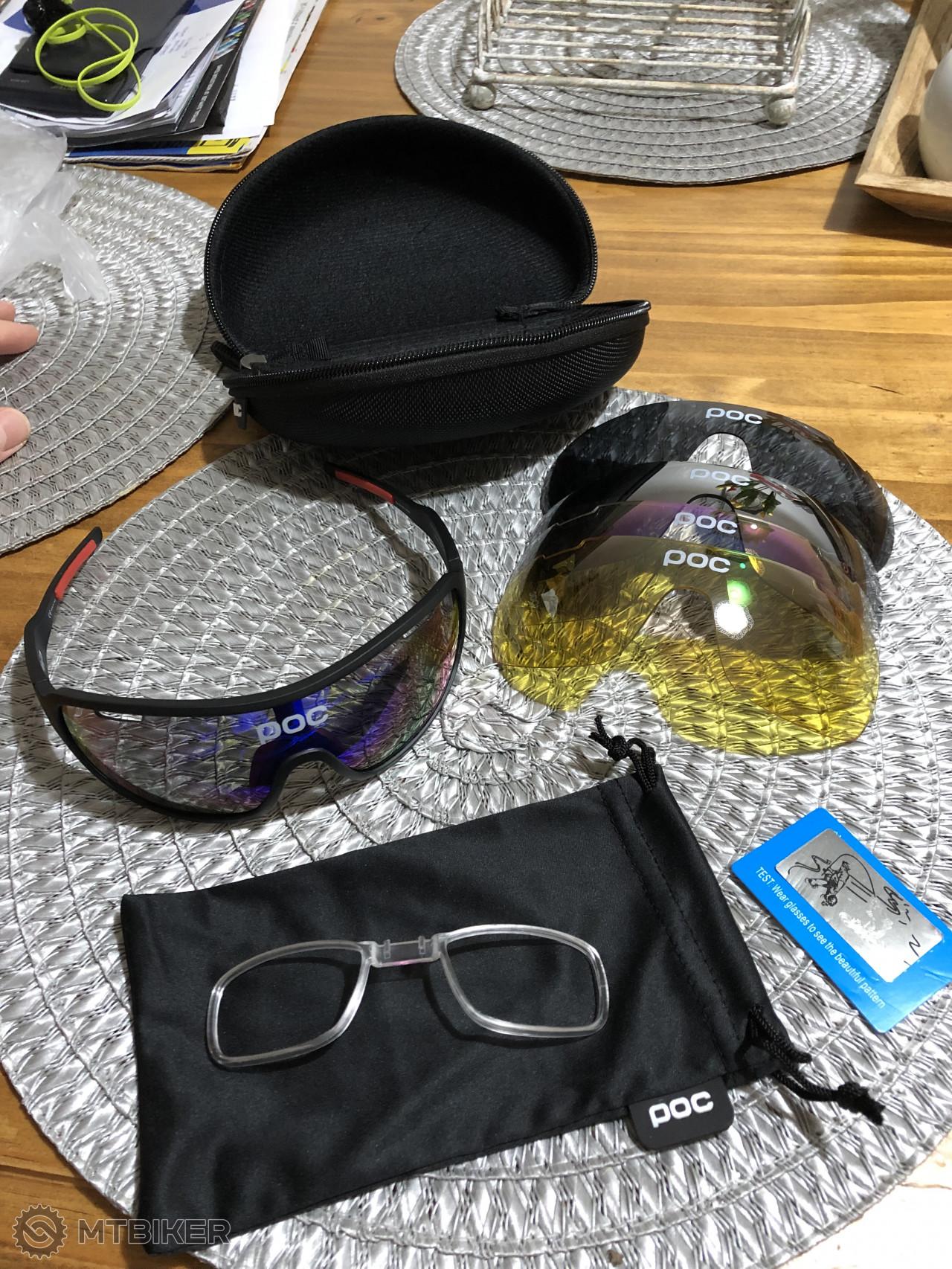 c9639b2ff Predám Okuliare Značky Poc - Príslušenstvo - Okuliare - Bazár MTBIKER