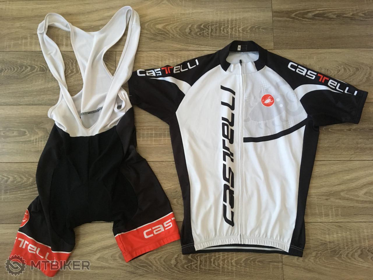74b28993d349d Cyklisticky Dres + Sortky Castelli - Príslušenstvo - Oblečenie a batohy - Bazár  MTBIKER