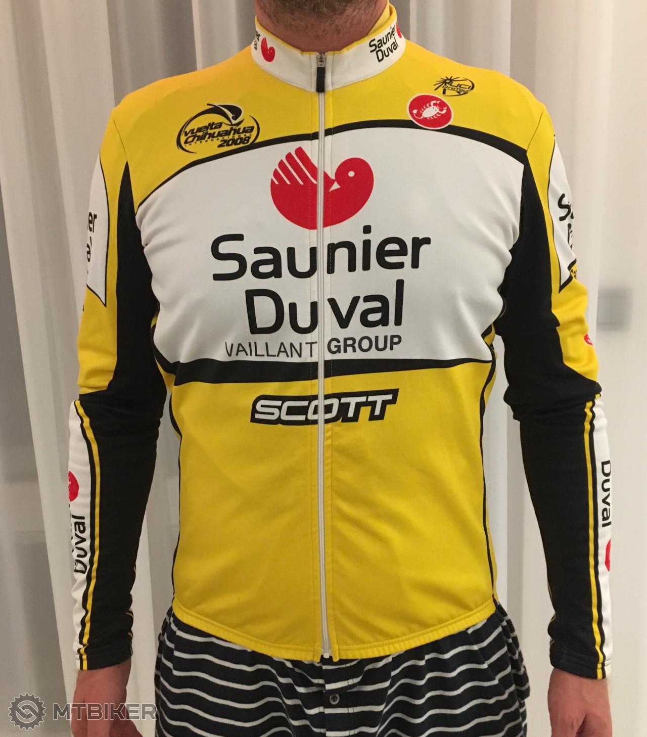 35ccfa5122a66 Dres Official Castelli - Scott Cycling Team, La Vuelta 2008 (zateplená  Bunda) - Príslušenstvo - Oblečenie a batohy - Bazár MTBIKER