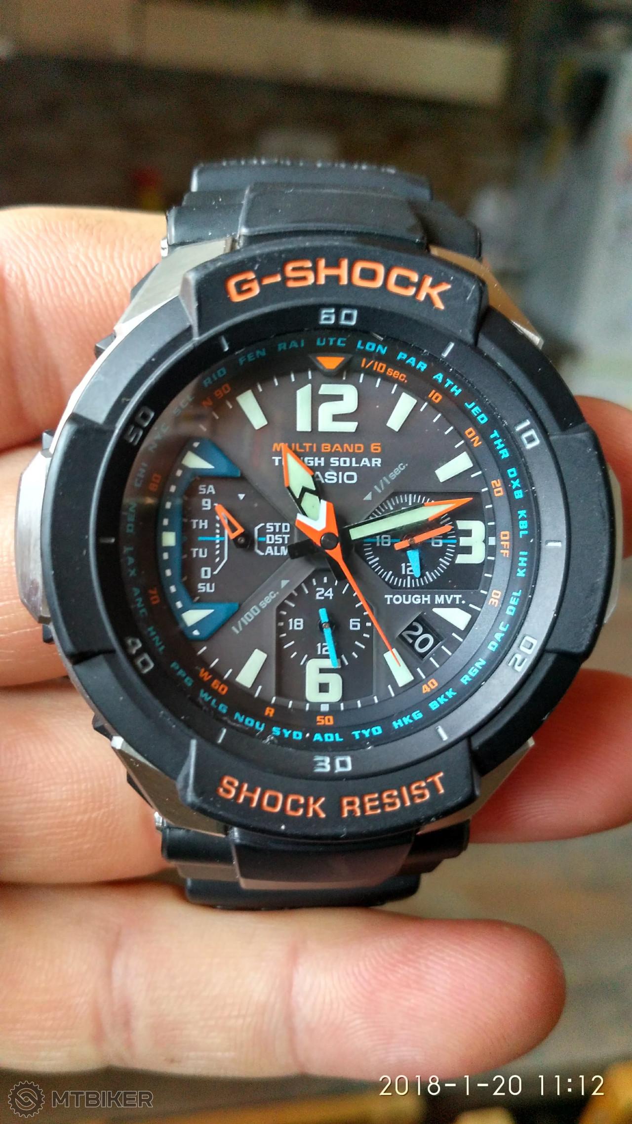 ff0eecfb6 Predam Hodinky Casio G Shock Gw3000 - Príslušenstvo - Ostatné - Bazár  MTBIKER