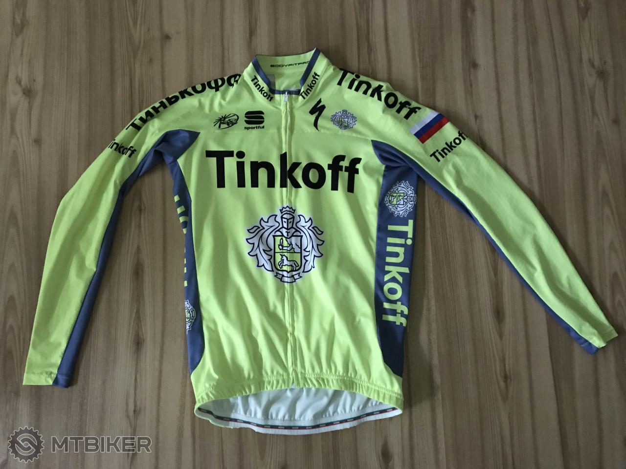 703641b91f3d4 Dlhy Dres Sportfull Tinkoff - Príslušenstvo - Oblečenie a batohy - Bazár  MTBIKER