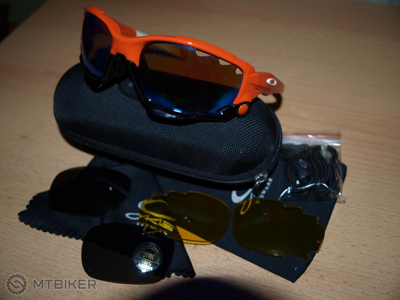 Replika Oakley Jawbone + 3 Sklá - Príslušenstvo - Okuliare - Bazár MTBIKER 24933e25d63