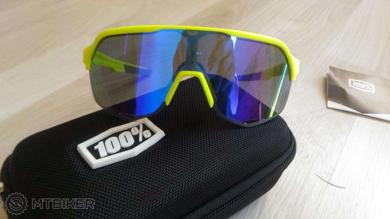 12bda9bd9 Cyklistické Okuliare S2 100% - Príslušenstvo - Okuliare - Bazár MTBIKER