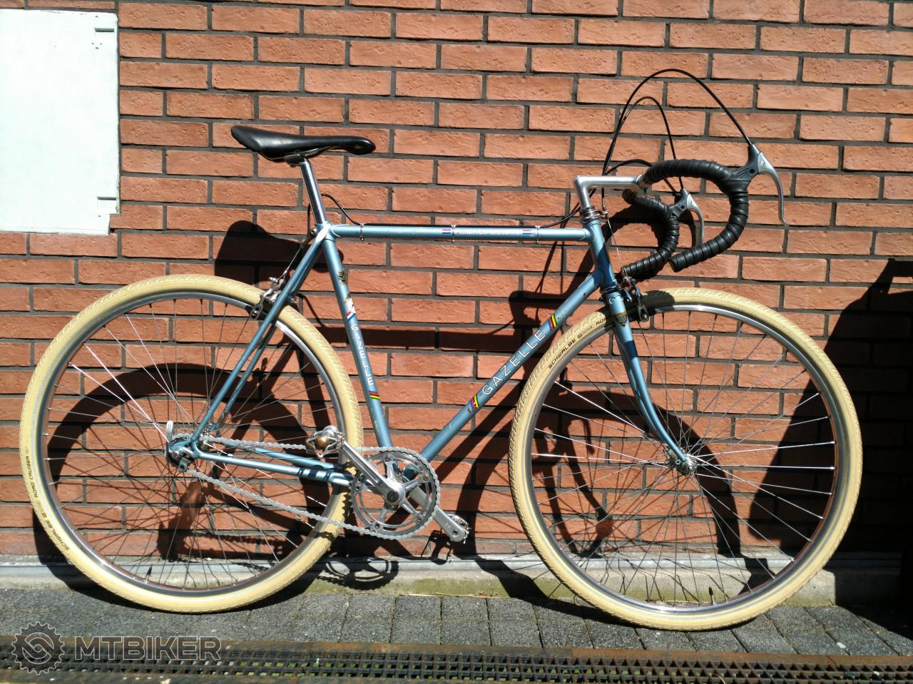 918e6e456a428 Vintage Singlespeed Gazelle Champion Mondial, Top Stav,generalka - Bicykle  - Cestné - Bazár MTBIKER