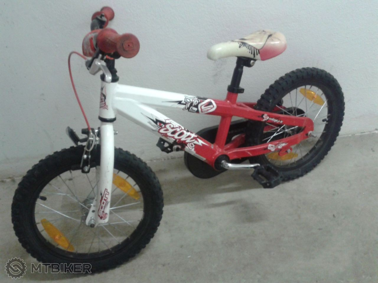 6800beb3ace58 Predám Detský Bicykel Scott 16