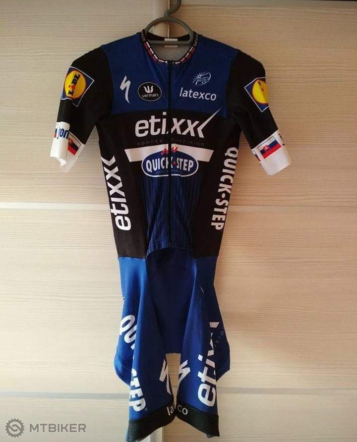 b9bcb5debfbcd Predám Cyklo Dres Etixx Quick Step - Príslušenstvo - Oblečenie a batohy - Bazár  MTBIKER