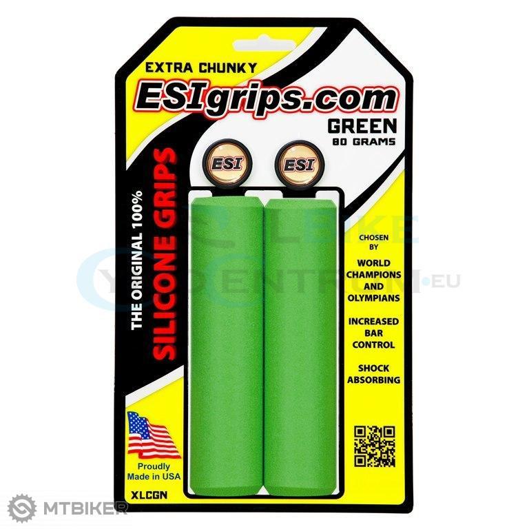 8bafa3e0d Esi Gripy Extra Chunky Zelene - Komponenty - Ostatné - Bazár MTBIKER