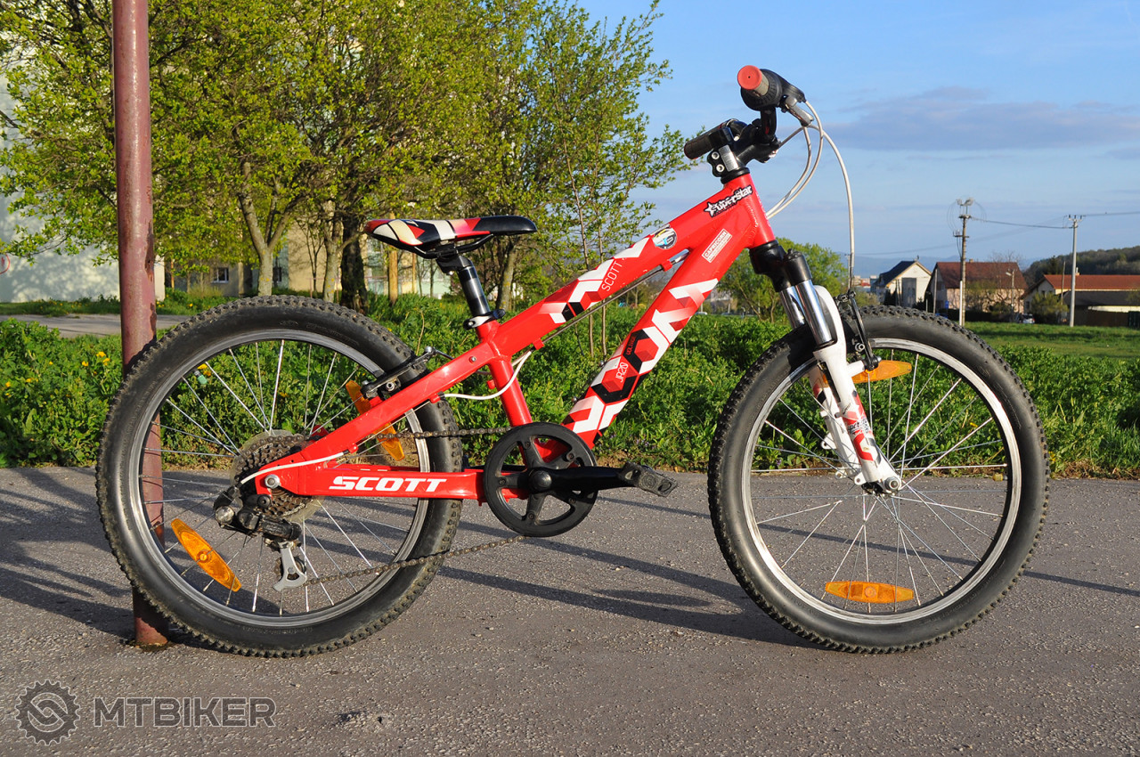 12a85776c250c 20-palcový Detský Bicykel Scott - Bicykle - Pevné a hardtail - Bazár MTBIKER