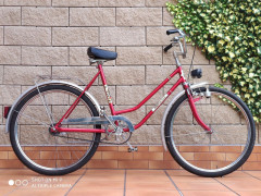 Retro Dámsky Bicykel Velamos Super De Luxe