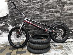 "Clean K1 Full Carbon 20"" Trialový Bicykel"