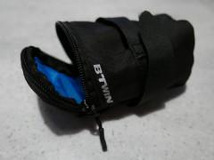 Podsedlová Kapsa Btwin 500 S 0,4 L čierna