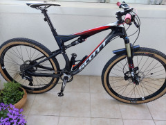 Predám Celoodpružený Bicykel Scott Spark 710 Carbon