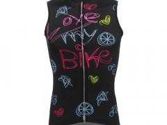 Dámský Cyklistický Dres Love My Bike