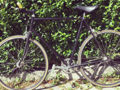 Predám Bicykel Cestný, Favorit Prerobený Na Singlespeed