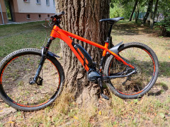 Ghost Hybride Kato S3.9 Orange / Black, Veľ. L