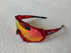 Športové Okuliare Speedtrap Crystal Red, Polarized