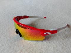 Športové Okuliare Radar E V, Red/white,polarized