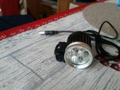 Svetlo Na Bike 3x T6 Xml2