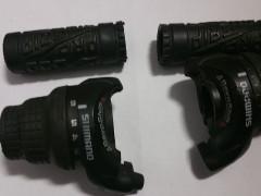 Shimano Revoshift 3x6 + Gripy