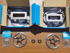 Kotucove Brzdy Shimano Xt + Kotuce Shimano Xt 2x