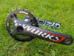 S-works Carbon 34z, 170mm 500g