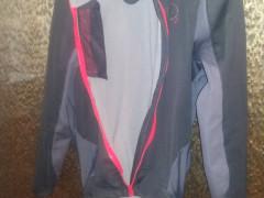 Castelli Senza Jacket - Black/anthracite/red Vel. S