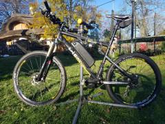 Celoodpružený Enduro Elektrobicykel 1000w Bafang