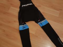 Cykloset Astana, Dlhe Nohavice + Dres, Velkost M