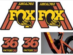 Fox 36 Nálepky