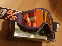 Okuliare 100% Goggle Accuri Grib - Mirror Red Lens