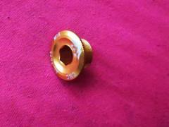 Zlatá - žltá Skrutka Lavej Kluky Pri Strede Hollowtech 2 M18