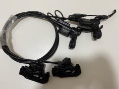 Tektro Auriga E-comp Black P180mm/z160mm