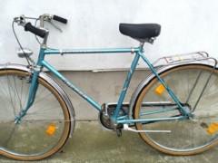 "Nemecký Fischer Cestný Trekingový Bicykel 21,5"" Rám 3 Prevody"