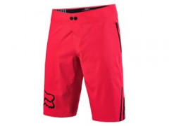 Cyklo Nohavice - Fox Attack Pro Short Neon Red (velkost 34 L - Xl)
