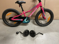 "Detský Bicykel Specialized 16"" S Možnosťou Pomocných Koliesok."
