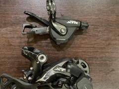 Shimano Xt M8000 11-k.  Sgs  +  Shimano Radenie Xtr M9000