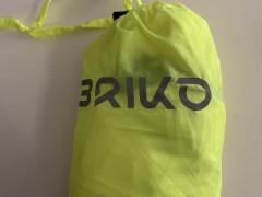 Briko Fresh Packable Jacket Xn Cyklistická Bunda Neonovo Zelena