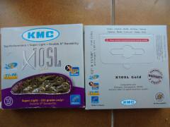 Kmc Gold X 10 El Ti-n 10 Speed.